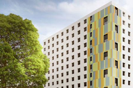 cheap housing in Berlin for students of the GLS German language school